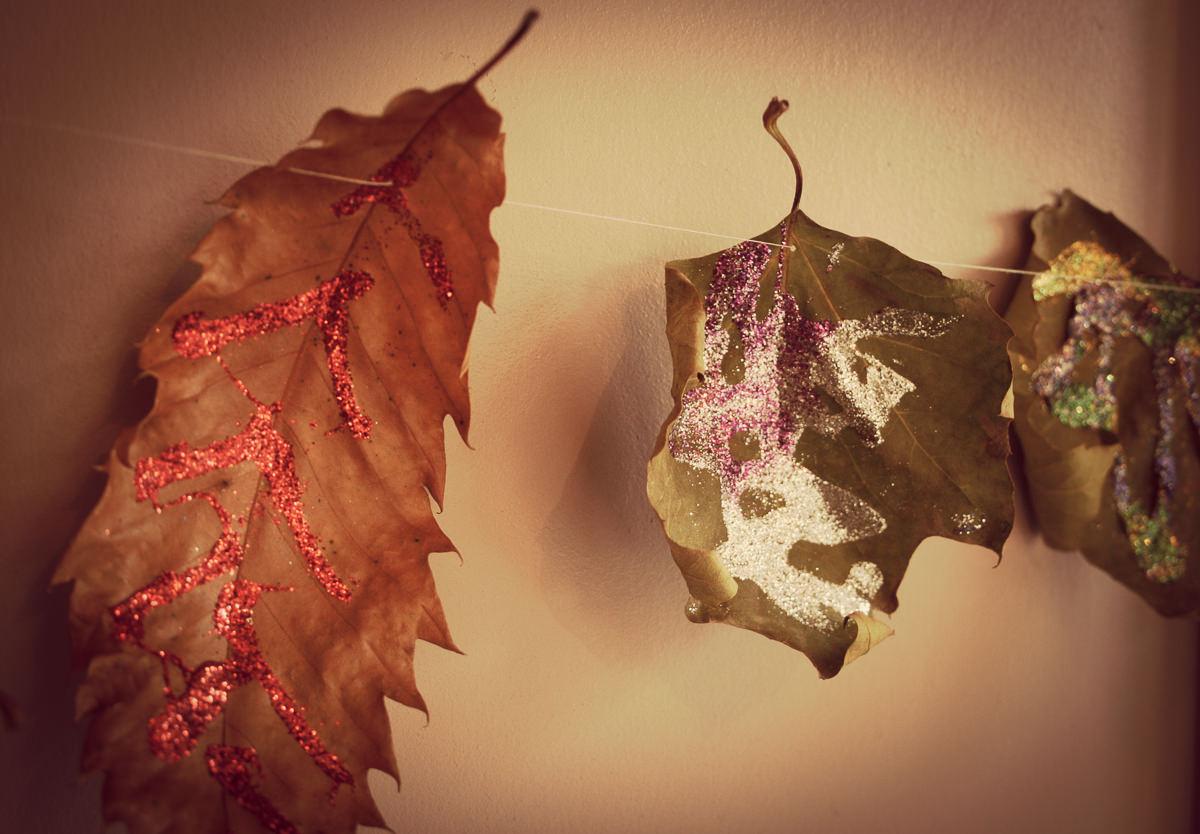 October Leaf Garland-9