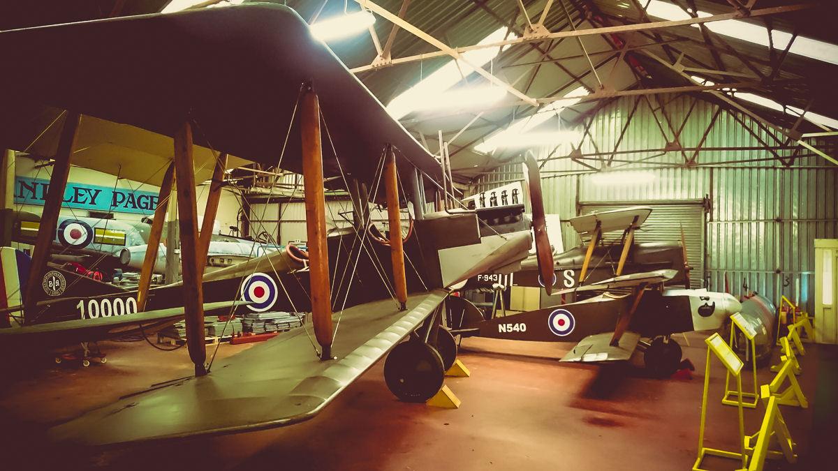 January Yorkshire Military Air Museum-4