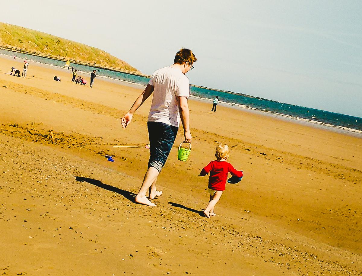 May Bank Holiday Beach Filey-11-2