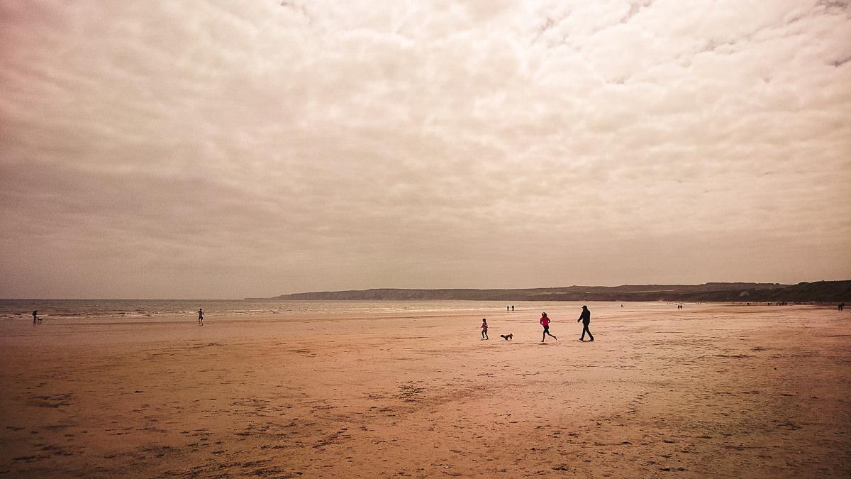 May Bank Holiday Beach Filey-29