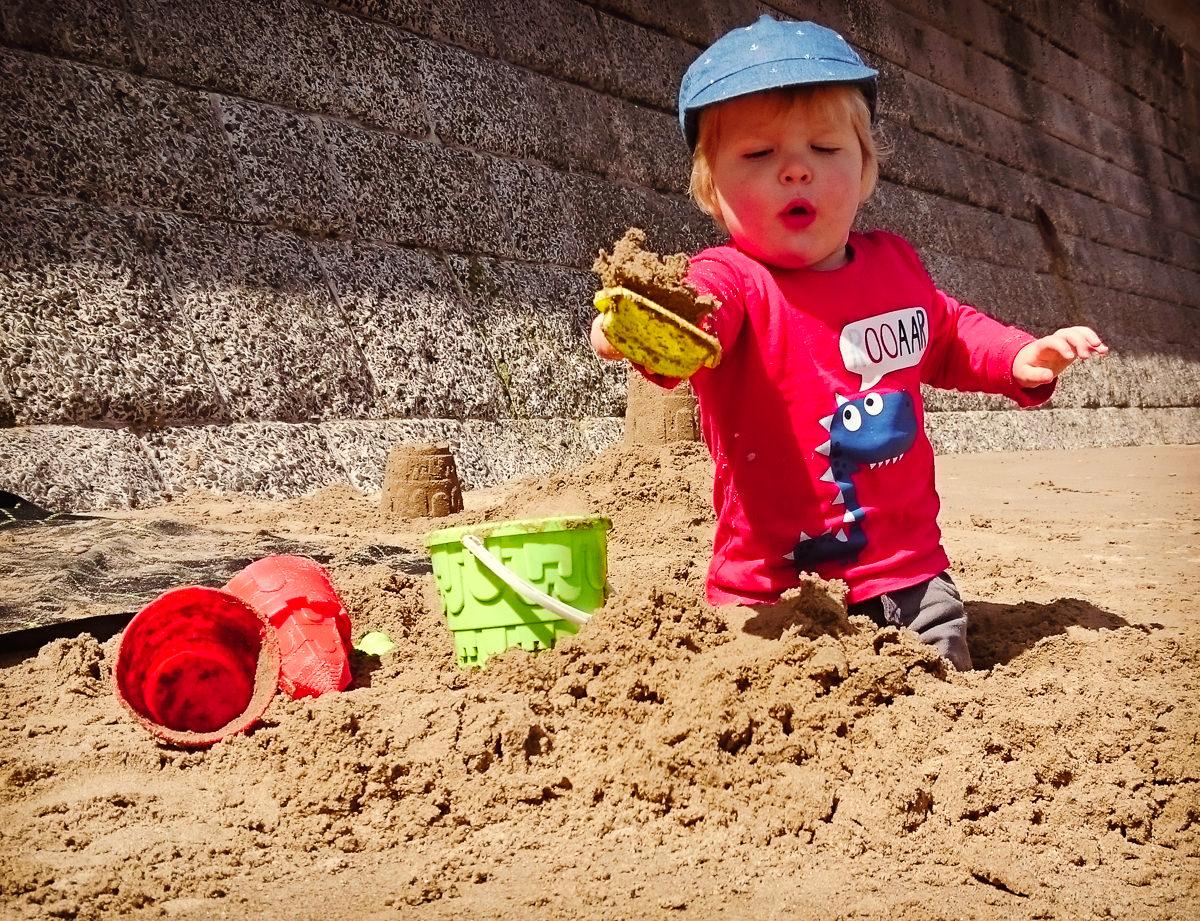 May Bank Holiday Beach Filey-50