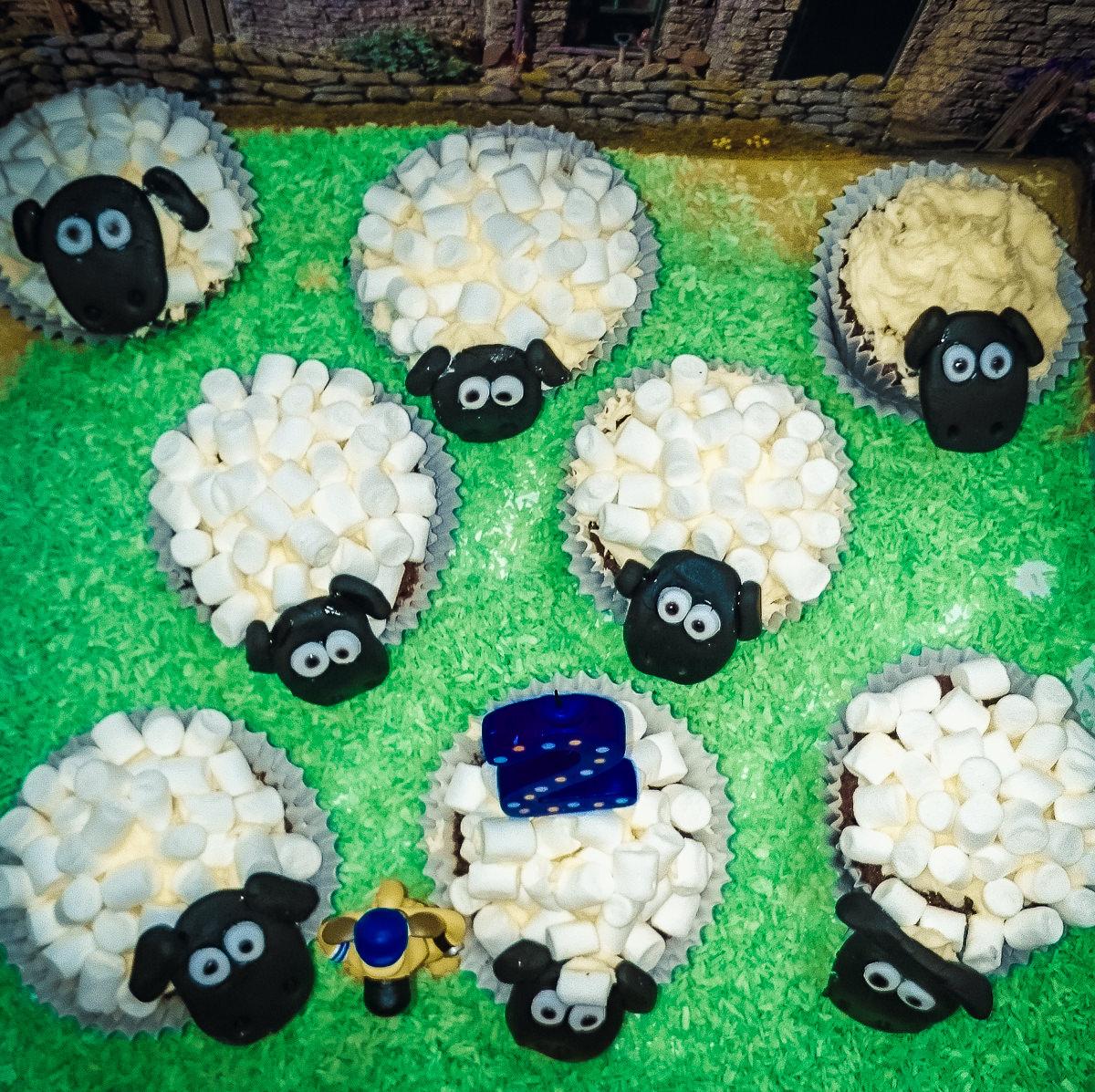 Incredible Creating A Shaun The Sheep Birthday Cake Marshmallow Sheep Funny Birthday Cards Online Benoljebrpdamsfinfo