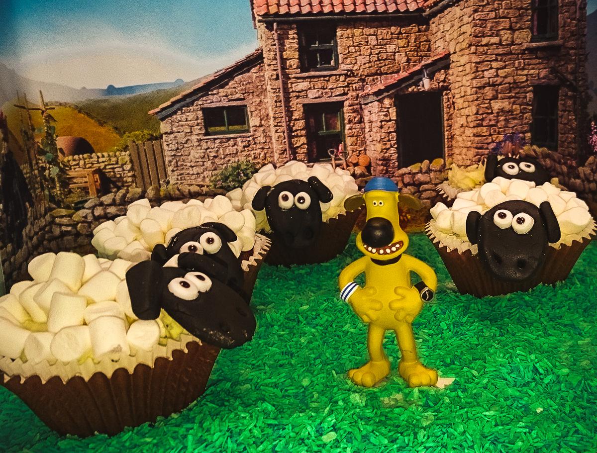 Fabulous Creating A Shaun The Sheep Birthday Cake Marshmallow Sheep Personalised Birthday Cards Paralily Jamesorg