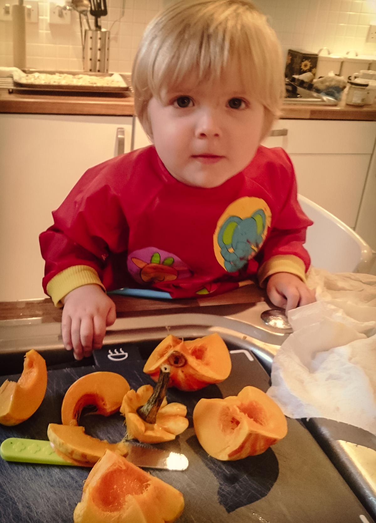 November Pumpkin Cake and Soup Making-5
